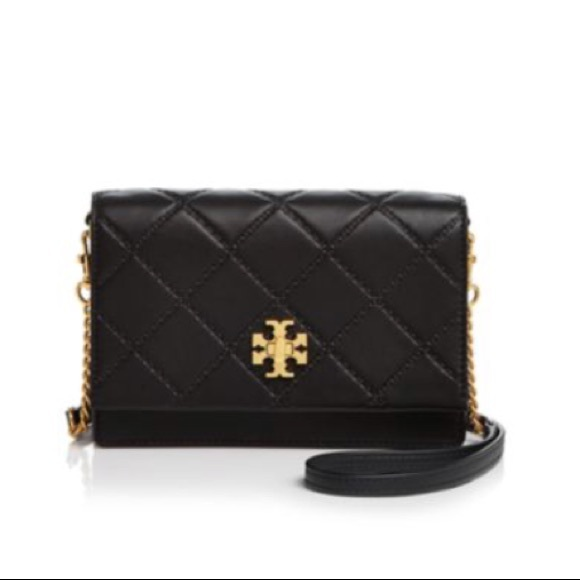 0988bd537371 Tory Burch Georgia turn lock black mini bag. M 5b55f5ee74359be5272020f0